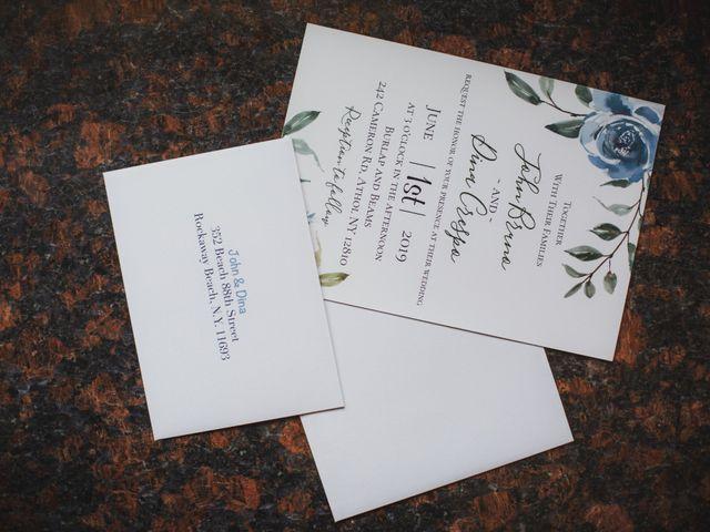 John and Dina's Wedding in Athol, New York 25
