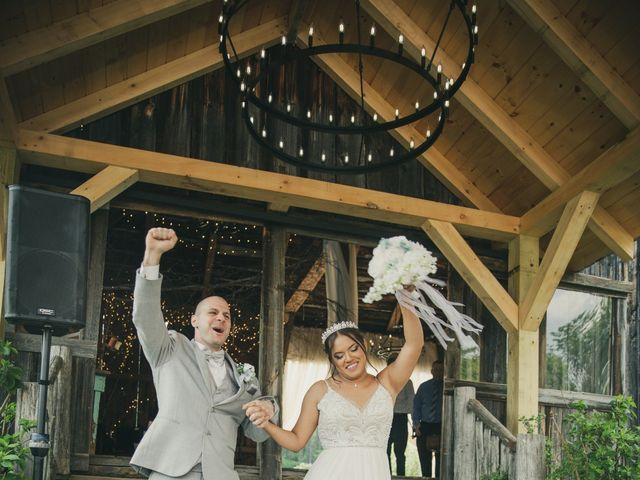 John and Dina's Wedding in Athol, New York 28