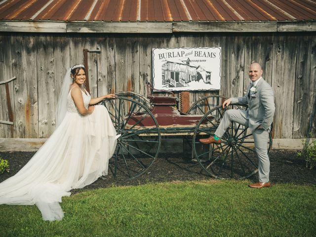 The wedding of Dina and John