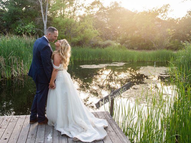 The wedding of Sarah and Matt