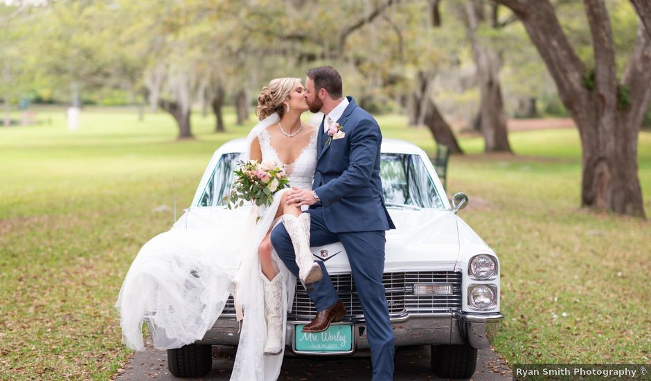 Anna and Austin's Wedding in Murrells Inlet, South Carolina