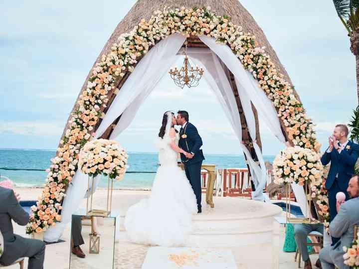 The wedding of Roosvel and Liz