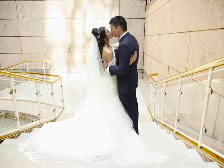 The wedding of Almira and Mark