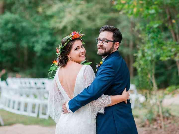 The wedding of Renee and Chris