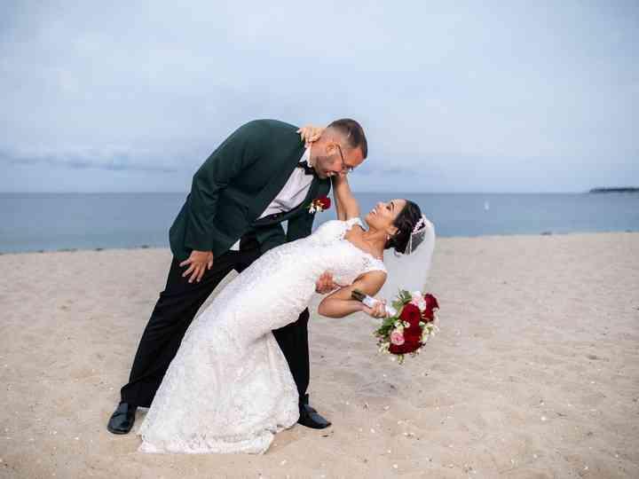 The wedding of Damaris and Alex