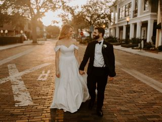 The wedding of Ashley and John  1
