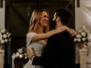 The wedding of Ashley and John
