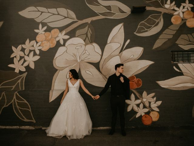 The wedding of Miriam and Sean