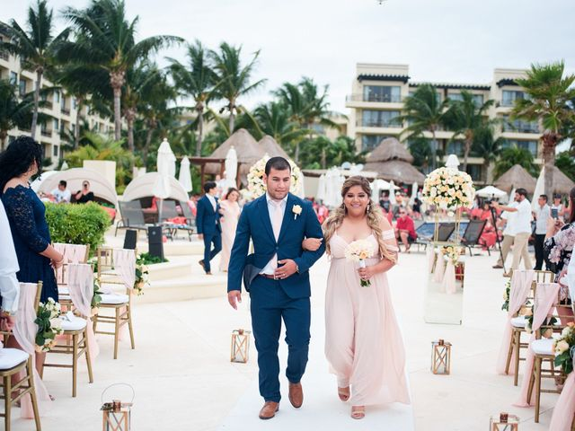 Liz and Roosvel's Wedding in Cancun, Mexico 41