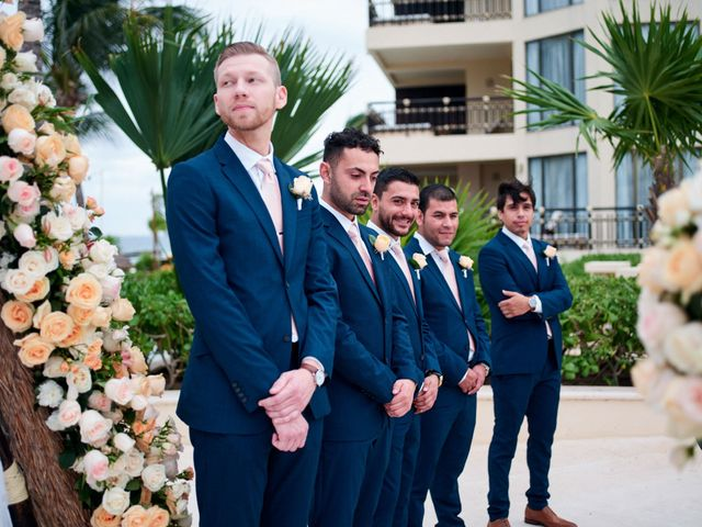 Liz and Roosvel's Wedding in Cancun, Mexico 46