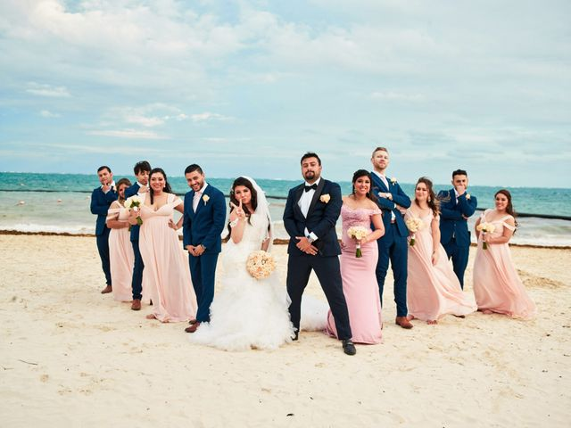 Liz and Roosvel's Wedding in Cancun, Mexico 61