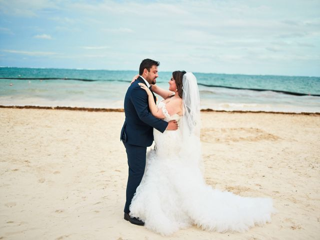 Liz and Roosvel's Wedding in Cancun, Mexico 65