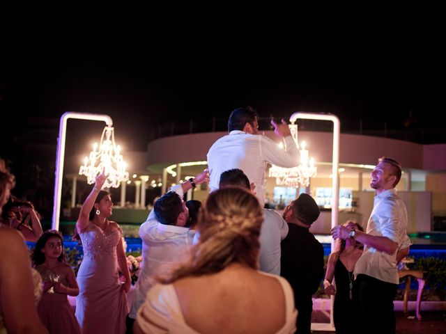 Liz and Roosvel's Wedding in Cancun, Mexico 92