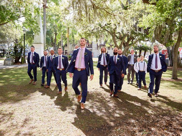 Brian and Jamie's Wedding in Saint Augustine, Florida 15