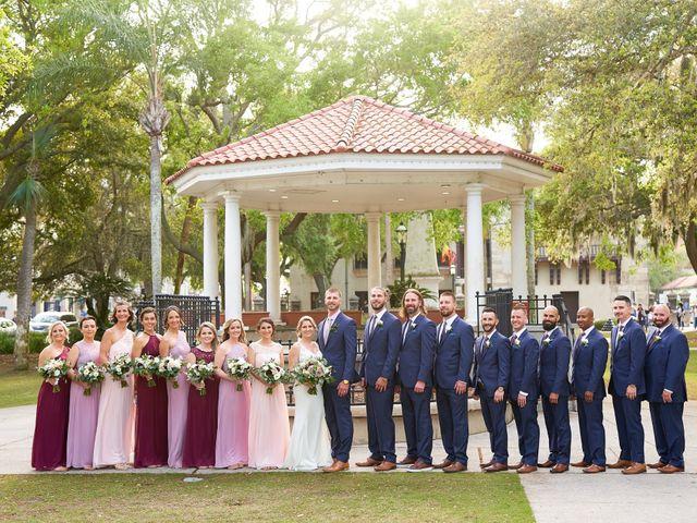 Brian and Jamie's Wedding in Saint Augustine, Florida 29