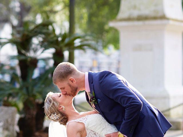 Brian and Jamie's Wedding in Saint Augustine, Florida 36