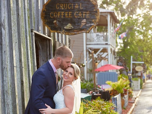 Brian and Jamie's Wedding in Saint Augustine, Florida 37