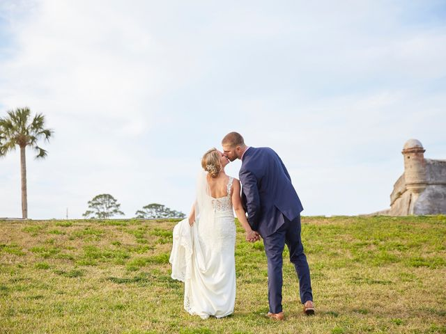 Brian and Jamie's Wedding in Saint Augustine, Florida 39