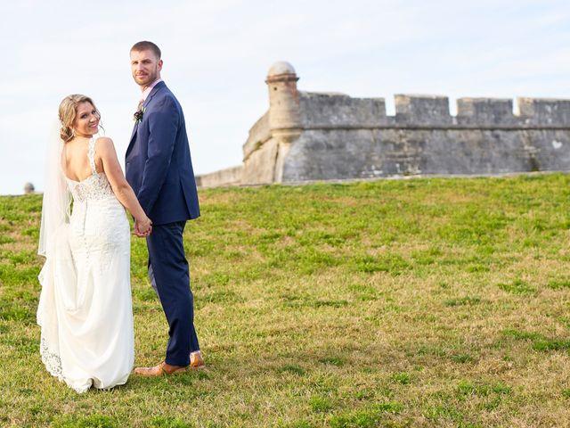 Brian and Jamie's Wedding in Saint Augustine, Florida 40