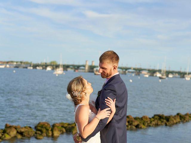 Brian and Jamie's Wedding in Saint Augustine, Florida 41