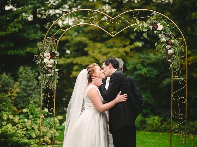 The wedding of Caroline and Joshua