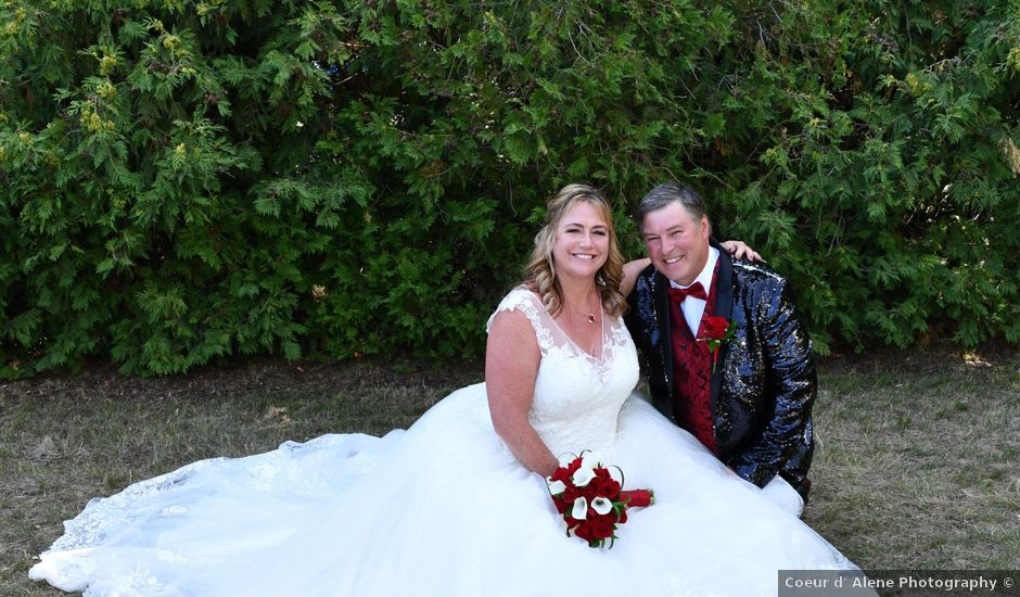 George and Billie's Wedding in Post Falls, Idaho