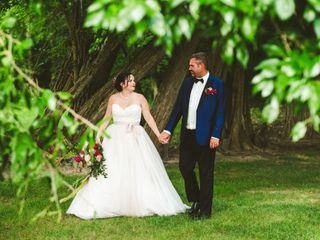 The wedding of Lillie and Ian