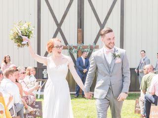 The wedding of Hannah and Nick 3
