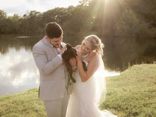 The wedding of Anna and Dillion