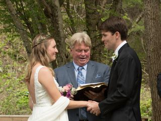 The wedding of John and Andie 1