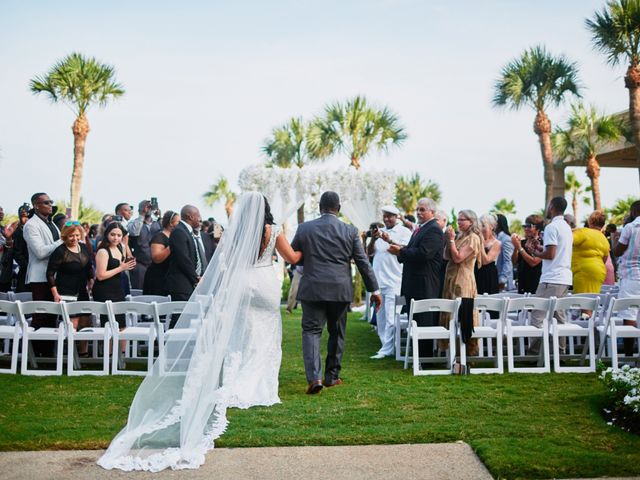 Stephanie and Brian's Wedding in Galveston, Texas 1