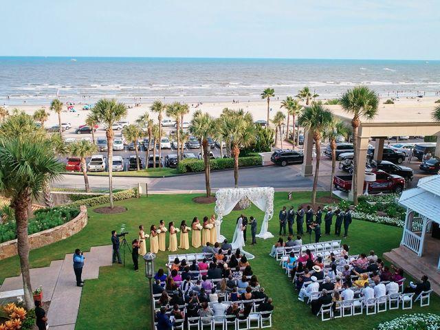 Stephanie and Brian's Wedding in Galveston, Texas 2