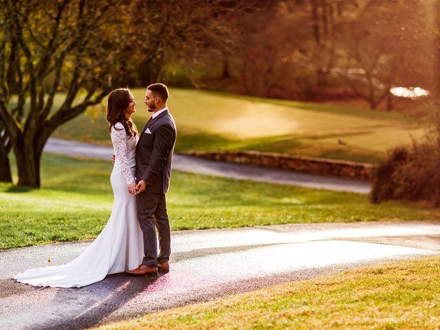 The wedding of Amanda and Chris