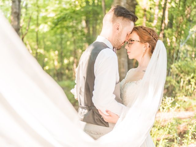 The wedding of Hannah and Nick