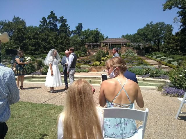 The wedding of Sarah R and Brien V