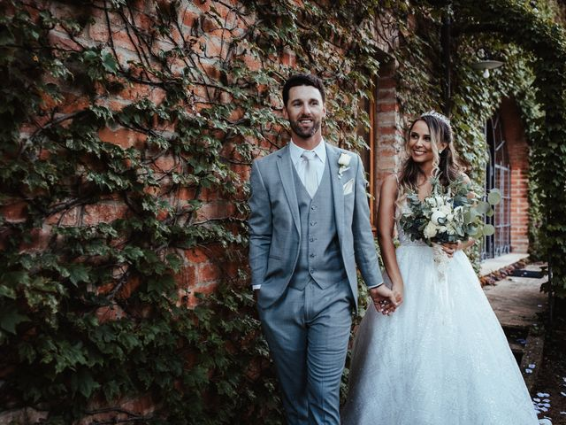 The wedding of Stephanie and Zach