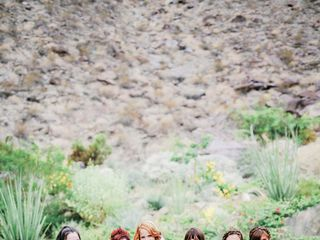 Katie and Brian's Wedding in North Palm Springs, California 6