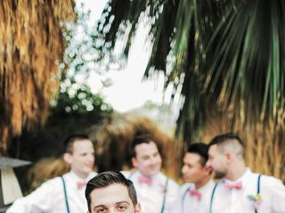Katie and Brian's Wedding in North Palm Springs, California 9