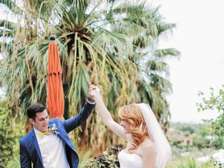 Katie and Brian's Wedding in North Palm Springs, California 12