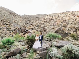 Katie and Brian's Wedding in North Palm Springs, California 3