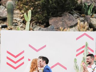 Katie and Brian's Wedding in North Palm Springs, California 17