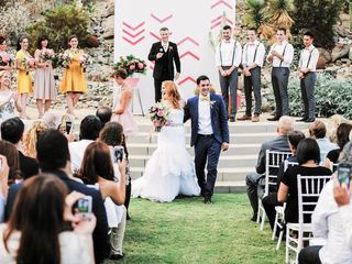 Katie and Brian's Wedding in North Palm Springs, California 18