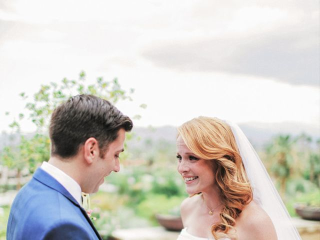 Katie and Brian's Wedding in North Palm Springs, California 10