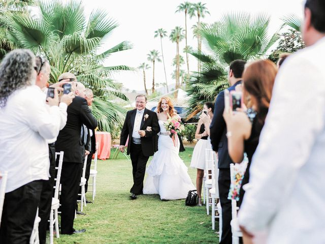 Katie and Brian's Wedding in North Palm Springs, California 15