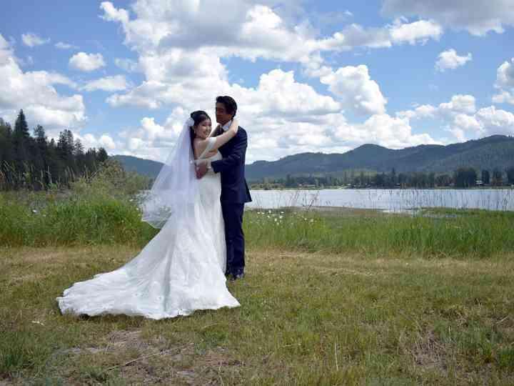 The wedding of Loren and Joe