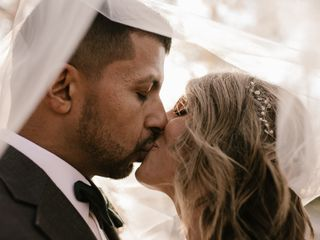 The wedding of Megan and Arshad