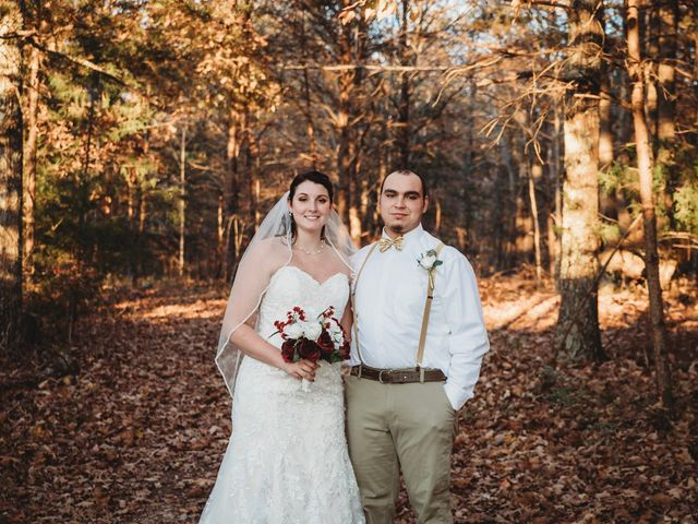 The wedding of Amber and James