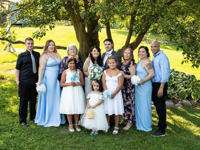 Devin and Michaela's Wedding in Beldenville, Wisconsin 53