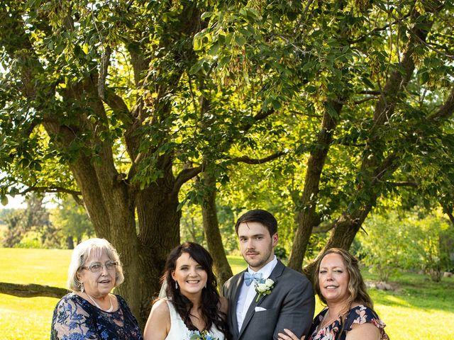 Devin and Michaela's Wedding in Beldenville, Wisconsin 54