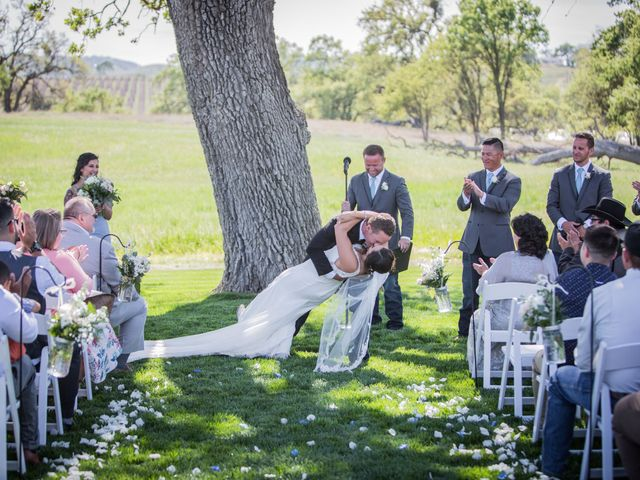Tricia and Jakob's Wedding in Paso Robles, California 13